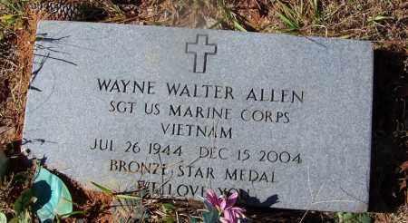 ALLEN (VETERAN VIET), WAYNE WALTER - Cleveland County, Arkansas | WAYNE WALTER ALLEN (VETERAN VIET) - Arkansas Gravestone Photos