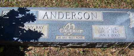 ANDERSON, NANCY L - Cleveland County, Arkansas | NANCY L ANDERSON - Arkansas Gravestone Photos