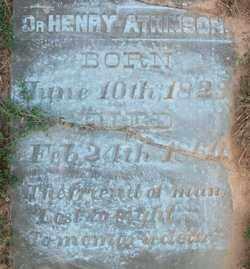 ATKINSON, DR, HENRY - Cleveland County, Arkansas | HENRY ATKINSON, DR - Arkansas Gravestone Photos