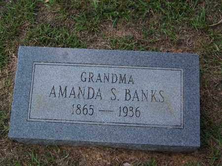 BANKS, AMANDA S - Cleveland County, Arkansas | AMANDA S BANKS - Arkansas Gravestone Photos