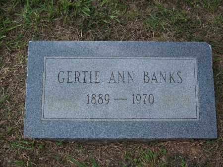 BANKS, GERTIE ANN - Cleveland County, Arkansas | GERTIE ANN BANKS - Arkansas Gravestone Photos