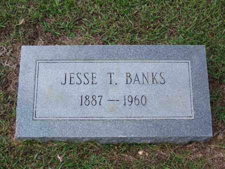BANKS, JESSE T - Cleveland County, Arkansas | JESSE T BANKS - Arkansas Gravestone Photos