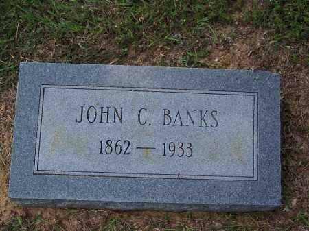BANKS, JOHN C - Cleveland County, Arkansas | JOHN C BANKS - Arkansas Gravestone Photos