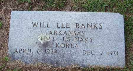 BANKS (VETERAN KOR), WILL LEE - Cleveland County, Arkansas | WILL LEE BANKS (VETERAN KOR) - Arkansas Gravestone Photos