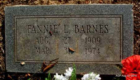 BARNES, FANNIE L - Cleveland County, Arkansas   FANNIE L BARNES - Arkansas Gravestone Photos