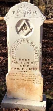 BARNETT, WILLIAM DAVID - Cleveland County, Arkansas | WILLIAM DAVID BARNETT - Arkansas Gravestone Photos