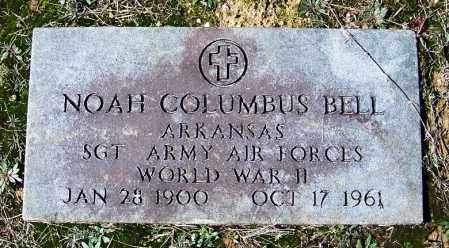 BELL (VETERAN WWII), NOAH COLUMBUS - Cleveland County, Arkansas | NOAH COLUMBUS BELL (VETERAN WWII) - Arkansas Gravestone Photos