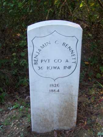 BENNETT (VETERAN UNION), BENJAMIN C - Cleveland County, Arkansas | BENJAMIN C BENNETT (VETERAN UNION) - Arkansas Gravestone Photos