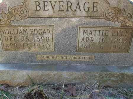 BEVERAGE, MATTIE BELL - Cleveland County, Arkansas | MATTIE BELL BEVERAGE - Arkansas Gravestone Photos