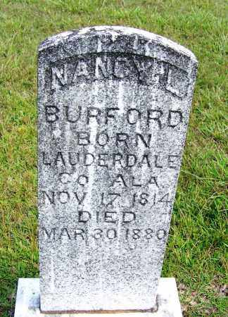 BURFORD, NANCY L - Cleveland County, Arkansas | NANCY L BURFORD - Arkansas Gravestone Photos