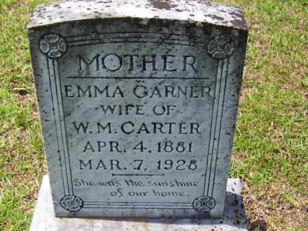 GARNER CARTER, EMMA - Cleveland County, Arkansas | EMMA GARNER CARTER - Arkansas Gravestone Photos