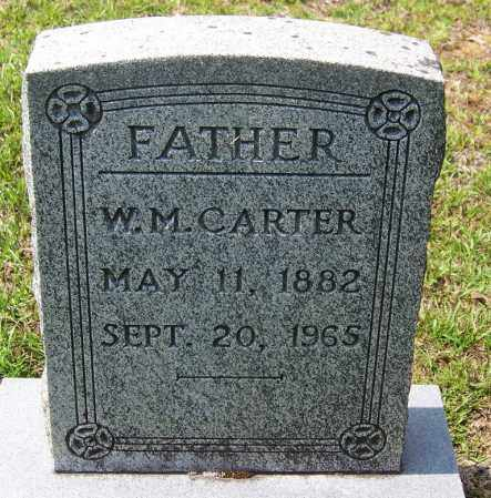 CARTER, W M - Cleveland County, Arkansas | W M CARTER - Arkansas Gravestone Photos