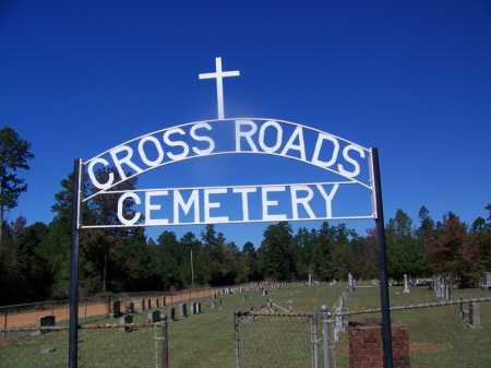 * CROSS ROADS, CEMETERY GATE - Cleveland County, Arkansas | CEMETERY GATE * CROSS ROADS - Arkansas Gravestone Photos