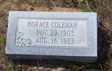 COLEMAN, HORACE - Cleveland County, Arkansas | HORACE COLEMAN - Arkansas Gravestone Photos