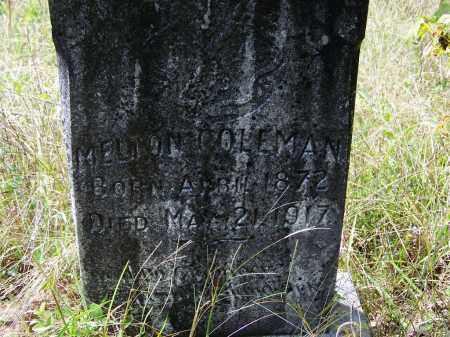 COLEMAN, MELTON - Cleveland County, Arkansas | MELTON COLEMAN - Arkansas Gravestone Photos