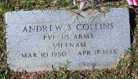 COLLINS (VETERAN VIET), ANDREW S - Cleveland County, Arkansas | ANDREW S COLLINS (VETERAN VIET) - Arkansas Gravestone Photos