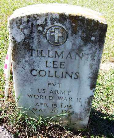 COLLINS (VETERAN WWII), TILLMAN LEE - Cleveland County, Arkansas | TILLMAN LEE COLLINS (VETERAN WWII) - Arkansas Gravestone Photos