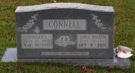 WILSON CONNELL, LULA EDNA - Cleveland County, Arkansas | LULA EDNA WILSON CONNELL - Arkansas Gravestone Photos