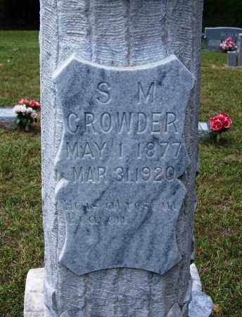 CROWDER, S M - Cleveland County, Arkansas | S M CROWDER - Arkansas Gravestone Photos