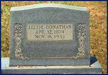 "DONATHAN, ELIZABETH ""LIZZIE"" - Cleveland County, Arkansas 
