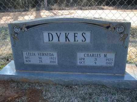 DYKES, LELIA VERNEDA - Cleveland County, Arkansas | LELIA VERNEDA DYKES - Arkansas Gravestone Photos