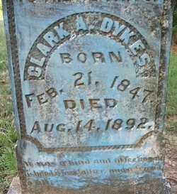 DYKES, CLARK A - Cleveland County, Arkansas | CLARK A DYKES - Arkansas Gravestone Photos