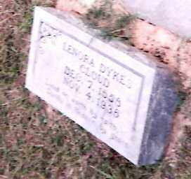 LITTLE DYKES CLOUD, LENORA - Cleveland County, Arkansas | LENORA LITTLE DYKES CLOUD - Arkansas Gravestone Photos