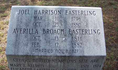 BROACH EASTERLING, AVERILLA - Cleveland County, Arkansas | AVERILLA BROACH EASTERLING - Arkansas Gravestone Photos