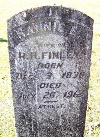 FINLEY, NANNIE E - Cleveland County, Arkansas | NANNIE E FINLEY - Arkansas Gravestone Photos