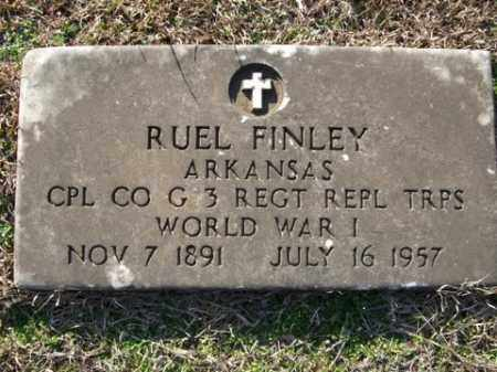 FINLEY (VETERAN WWI), RUEL - Cleveland County, Arkansas | RUEL FINLEY (VETERAN WWI) - Arkansas Gravestone Photos