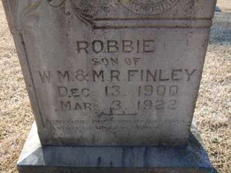 FINLEY, ROBBIE - Cleveland County, Arkansas | ROBBIE FINLEY - Arkansas Gravestone Photos