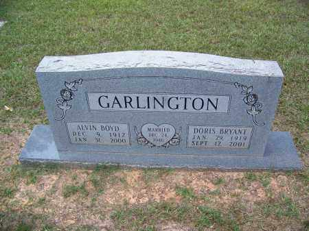 GARLINGTON, ALVIN BOYD - Cleveland County, Arkansas | ALVIN BOYD GARLINGTON - Arkansas Gravestone Photos