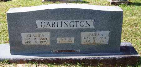 GARLINGTON, CLAUDIA - Cleveland County, Arkansas | CLAUDIA GARLINGTON - Arkansas Gravestone Photos