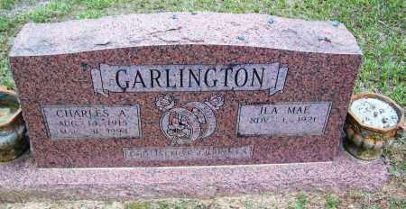 GARLINGTON, CHARLES A - Cleveland County, Arkansas | CHARLES A GARLINGTON - Arkansas Gravestone Photos