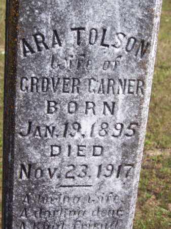 TOLSON GARNER, ARA - Cleveland County, Arkansas | ARA TOLSON GARNER - Arkansas Gravestone Photos
