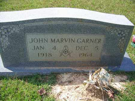 GARNER, JOHN MARVIN - Cleveland County, Arkansas | JOHN MARVIN GARNER - Arkansas Gravestone Photos