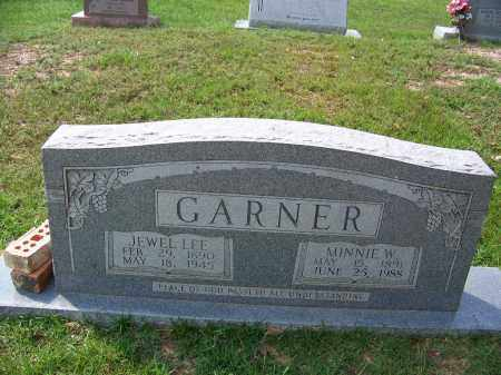 GARNER, MINNIE W - Cleveland County, Arkansas | MINNIE W GARNER - Arkansas Gravestone Photos