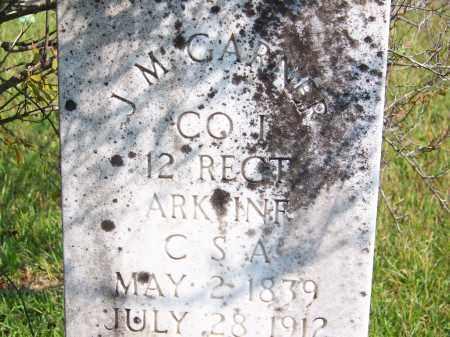 GARNER (VETERAN CSA), J M - Cleveland County, Arkansas | J M GARNER (VETERAN CSA) - Arkansas Gravestone Photos