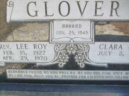 GLOVER, LEE ROY - Cleveland County, Arkansas | LEE ROY GLOVER - Arkansas Gravestone Photos