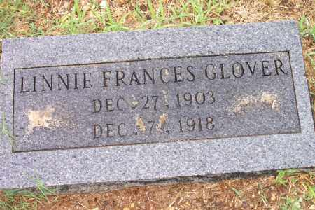 GLOVER, LINNIE - Cleveland County, Arkansas | LINNIE GLOVER - Arkansas Gravestone Photos