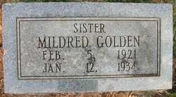 GOLDEN, MILDRED - Cleveland County, Arkansas | MILDRED GOLDEN - Arkansas Gravestone Photos