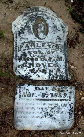 GROVES, FARLEY B - Cleveland County, Arkansas | FARLEY B GROVES - Arkansas Gravestone Photos
