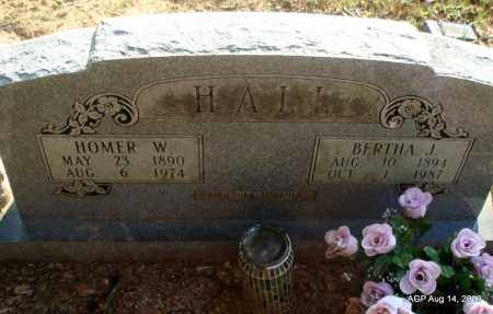 HALL, HOMER W - Cleveland County, Arkansas   HOMER W HALL - Arkansas Gravestone Photos