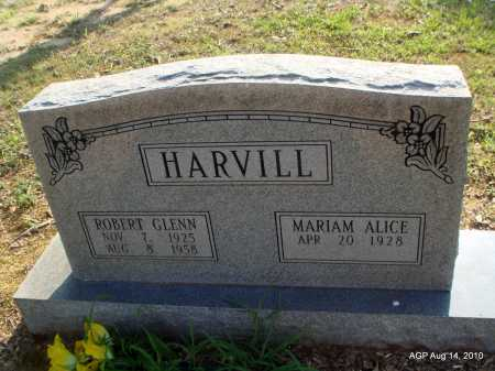 HARVILL, ROBERT GLENN - Cleveland County, Arkansas | ROBERT GLENN HARVILL - Arkansas Gravestone Photos