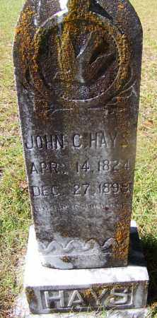 HAYS, JOHN C - Cleveland County, Arkansas | JOHN C HAYS - Arkansas Gravestone Photos