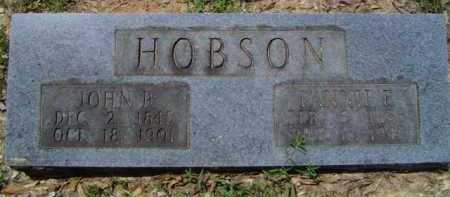 HOBSON, FANNIE E. - Cleveland County, Arkansas | FANNIE E. HOBSON - Arkansas Gravestone Photos