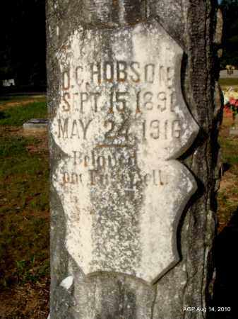 HOBSON, O C (CLOSE UP) - Cleveland County, Arkansas | O C (CLOSE UP) HOBSON - Arkansas Gravestone Photos