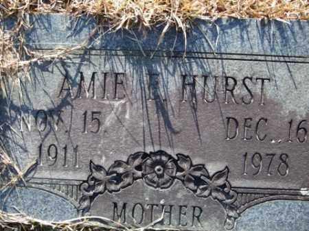 HURST, AMIE F. - Cleveland County, Arkansas | AMIE F. HURST - Arkansas Gravestone Photos