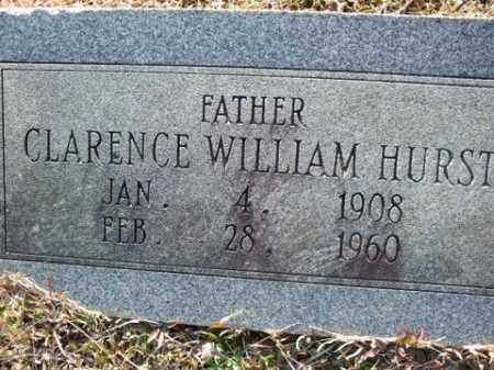 HURST, CLARENCE WILLIAM - Cleveland County, Arkansas | CLARENCE WILLIAM HURST - Arkansas Gravestone Photos