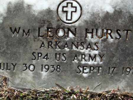 HURST (VETERAN), WILLIAM LEON - Cleveland County, Arkansas | WILLIAM LEON HURST (VETERAN) - Arkansas Gravestone Photos